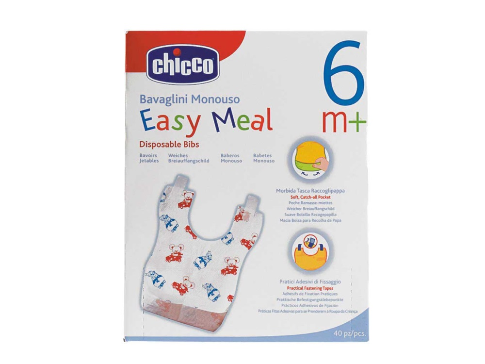 Bavaglini monouso Easy Meal Chicco