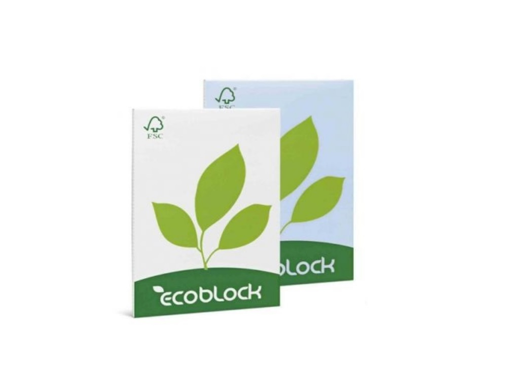 Block notes ecologico A4 bianco